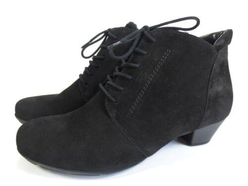 99 Warm Schwarz Stiefeletten Weiche Gabor 95 Schuhe Leder Neu IqXO7nnw0R