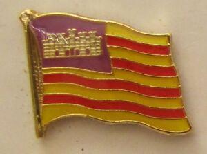Islas-Baleares-Conector-Pin-Bandera-Divisa-Boton-Clip-De-Solapa