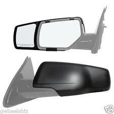 2015 2016 2017 GMC YUKON CLIP SNAP ON & ZAP TOWING SIDE MIRROR EXTENSION (PAIR)