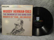 33 RPM LP Record Woody Herman Woody's 25th Year 1963 Philips Records PHS 600-065