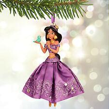 DISNEY STORE JASMINE Lavender Variant Sketchbook Ornament Aladdin New In Box