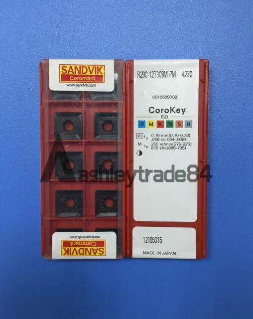 R290 12T3 08M PM 4230 INSERT SANDVIK BOX 10 PCS