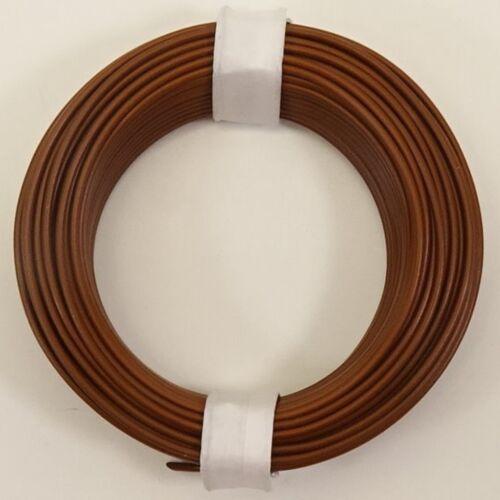 10 Meter LiY Kabel 0,14mm²  Litze Kupferlitze 10 Farben stehen zur Auswahl