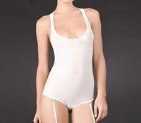 Maison Close Pavillon Bellevue Naked Body With Garter Belt - Ivory
