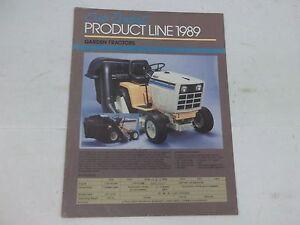 Details about Cub Cadet Product Brochure 1050 1210 1211 1806 1810 1811 1812  1772 1872 2072