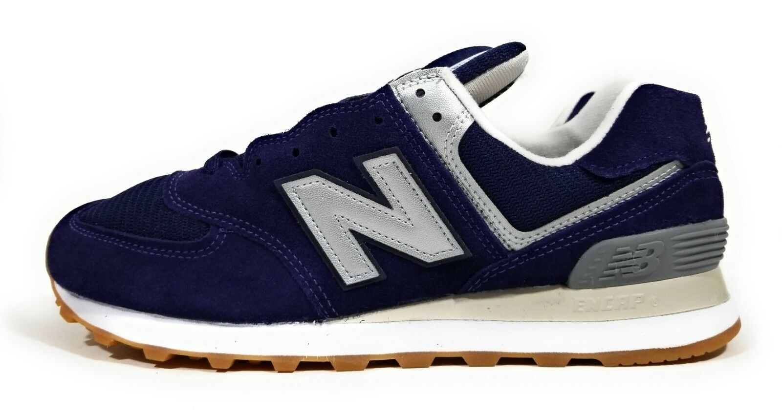 New Balance 574 Classic Retro Mens Running shoes Navy bluee Size 9.5