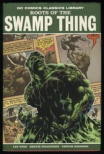 Roots-of-the-Swamp-Thing-DC-Classics-Library-Hardcover-HC-Bernie-Wrightson-Art