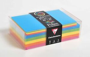 Clairefontaine Pollen Card and Envelope Correspondence Set, 82x128mm - Summer...