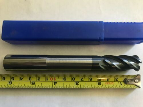 3//4 4 Flute ALTIN Coated Carbide EndMill 3//4x3//4x1-5//8x6 *BRAND NEW .750 .125R