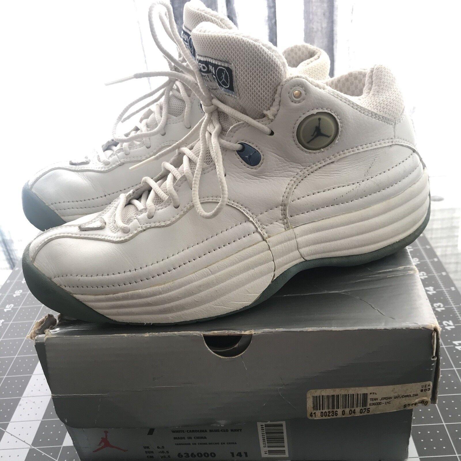 huge selection of 85ea3 3a874 20d0d 38476  amazon 1998 der nike air jordan jumpman weiß team 1 weiß  jumpman navy blau 636000 141