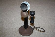 Antique Gong Bell Mfg. Junior Plaphone Telephone #500 Made in USA 1922 Rare Toy