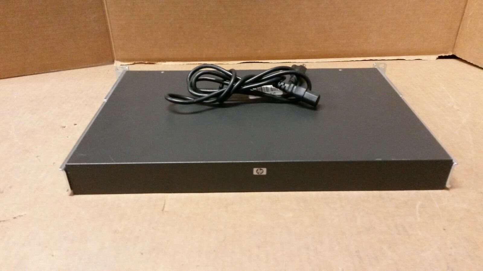 HP EO1010 3x1x16 16 port KVM over IP Switch 3D 286599-001 8 PS2 Cable Module POD
