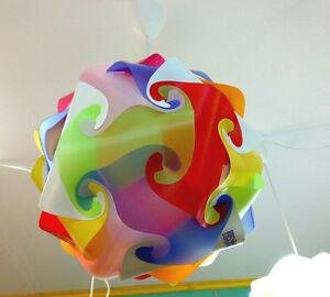 Lampadario in plastica diametro 40 bambini ufficio fantasia camera per ragazzi ebay - Lampadari per camera ragazzi ...