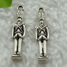 Free Ship 200 pieces tibet silver man pendant 31x7mm #421