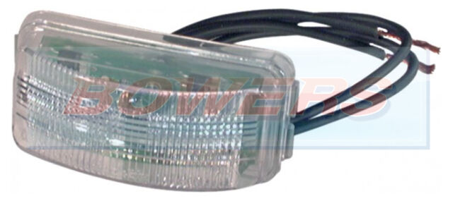 RUBBOLITE TRUCK-LITE TL/15 TL/15905 REAR LED NUMBER PLATE LIGHT LAMP INSERT 24V