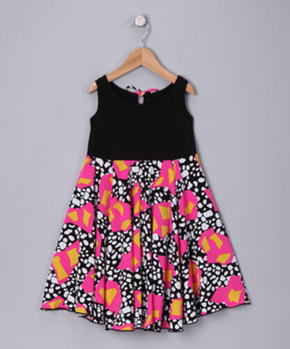 PBC Girls Spinning Dress Sleeveless Multi-Color Toddler and Girl Size 2T 8