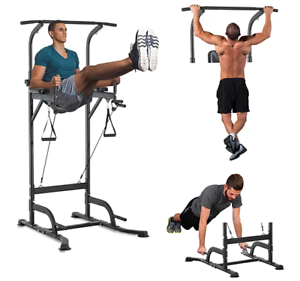 home garage gym equipment pull up bar dip station build