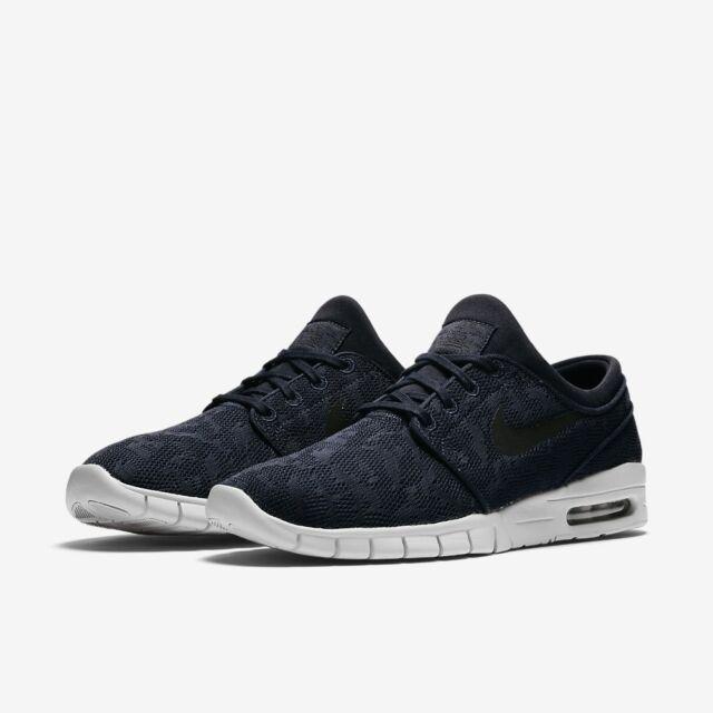 c76eb02f25 Nike SB Stefan Janoski Max Navy Blue Men s shoes 631303 404 Size 10.5