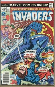 Invaders-1975-series-11-good-comic-book