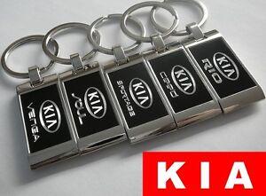 Keychain Keyring ENGRAVED KIA Rio Pro Ceed Sportage Soul Venga Optima Sorento GT