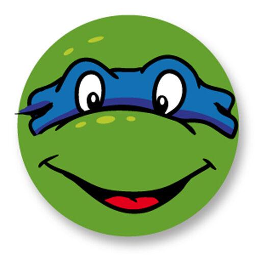 Magnet Aimant Frigo Ø38mm Tortues Ninja Teenage Mutant Turtles TMNT Leonardo