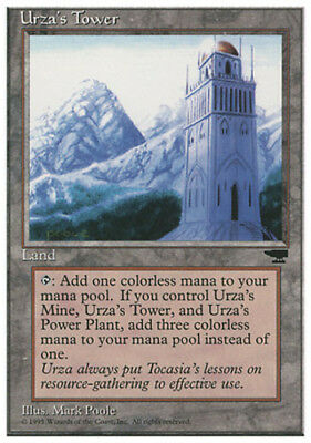 Mountains 1x Urza/'s Tower Moderate Play English Chronicles MTG Magic