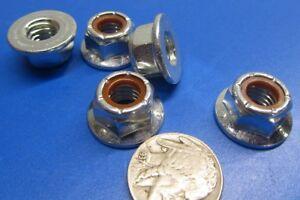 Nylon-Insert-Flange-Lock-Nut-GR-F-Steel-RH-3-8-034-16-x-9-16-034-W-x-7-16-034-H-100Pcs