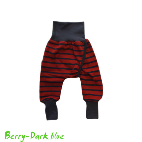 IOBIO Pants ORGANIC COTTON newborn baby diaper longies elimination communication