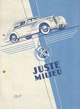 ✇ Original Prospekt brochure HOTCHKISS Typ 49 13CV und 20CV von 1948 very rare!