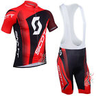 Cycling Jersey Sets new Sport Team  Bike Bicycle Bib Short Sleeve Clothing U44