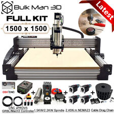 1515 Work Bee Cnc Wood Router Machine Full Kit 4 Axis Precise T8 Leadscrew Drive