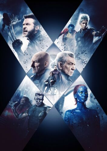 CHOOSE YOUR SIZE X-Men Poster X Men Movies Super Cool Collection Large FREE P+P