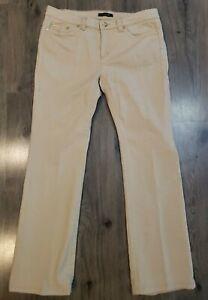 Roberto-Cavalli-Womens-Bootcut-Jeans-Sz-46-10-Stretch-Denim-Vintage-90s-Italy