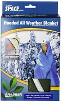 Grabber Outdoors Original Space Brand Sportsman`s Hooded Blanket/poncho: Olive, on sale