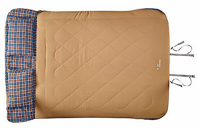 New Oz Trail Nullabor double sleeping bag with pillows SBJ-NUHD-C
