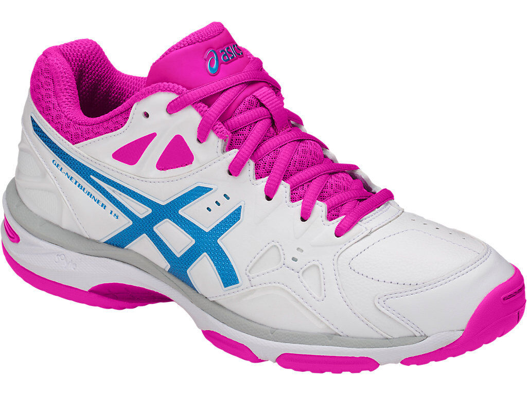 NEW Asics Gel Netburner 18 Womens Netball shoes (D) (0141) (0141) (0141) 314a80