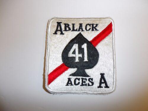b8962 Vietnam US Navy VF 41 Fighting-41 Fighter Ron Black Aces ir28e