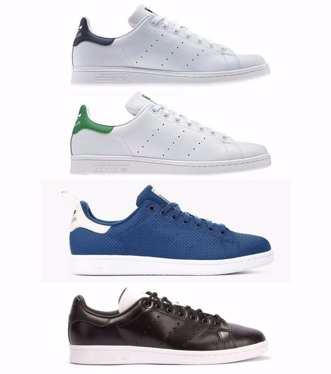 Adidas Stan Smith hommes Originals Trainers Skate Chaussures