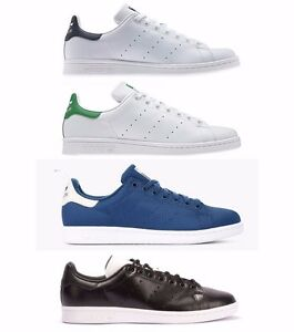 Adidas Stan Smith Uomo Originali Dei Formatori Pattinare Scarpe Ebay