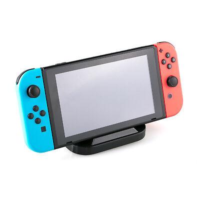 SKGAMES Ladestation Dockingstation Ladegerät für Nintendo Switch Konsole Schwarz