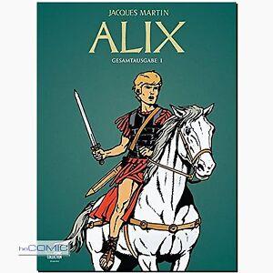 Alix-Gesamtausgabe-1-Comic-Unterhaltung-auf-hoechstem-Niveau-EHAPA-gebraucht
