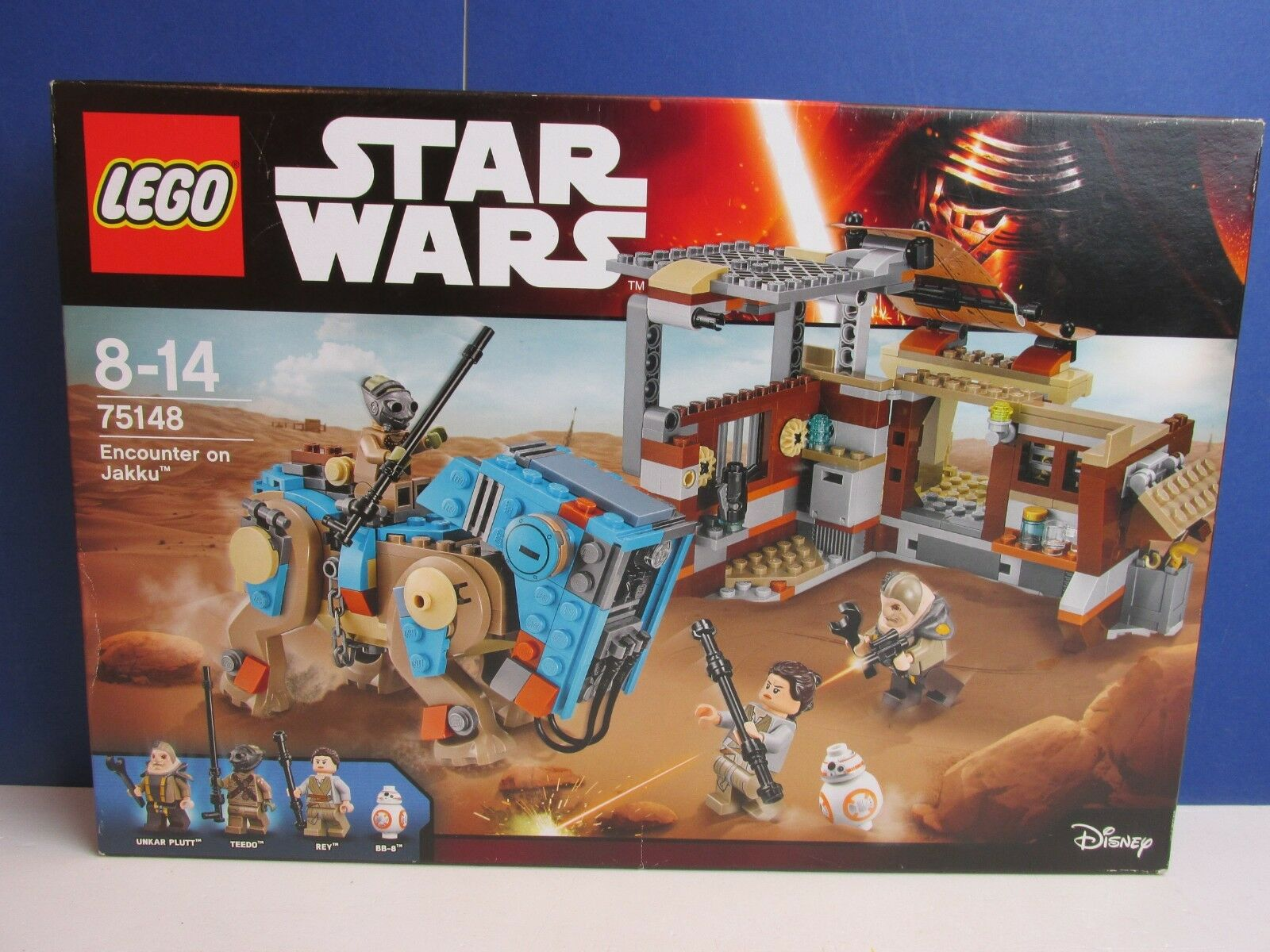 NEW lego 75148 star wars ENCOUNTER ON JAKKU force awkens BB-8 REY UNKAR PLUTT