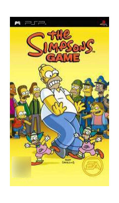 The Simpsons Game (Sony PSP, 2007)