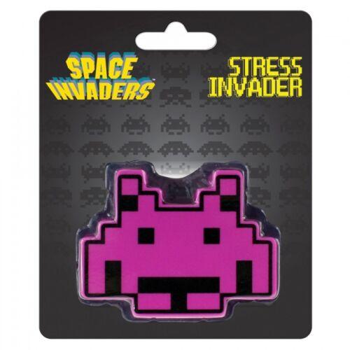SPACE INVADERS 80´er RETRO VIDEO GAME Stress Doll NEU+OVP PURPLE ALIEN