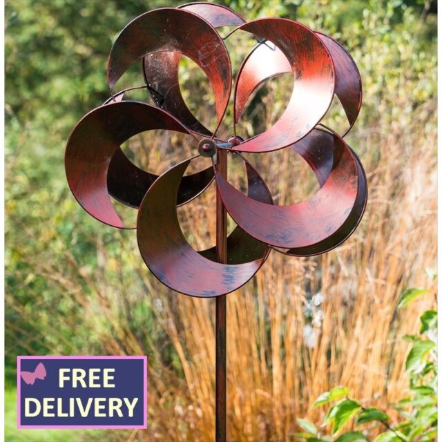 Tatton Wind Spinner Garden Art, Wind Spinners For Garden