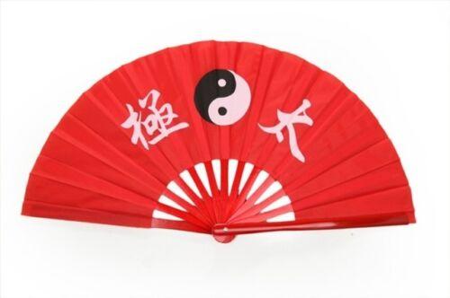 Taichi Martial Arts Wushu Bamboos Fan Kungfu Weapons Equipment Training Fan New