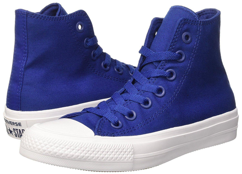 hombres Converse Chuck Taylor AlStar Alta Informales Zapatos, 150146C II MULT TAMAÑOS Azul
