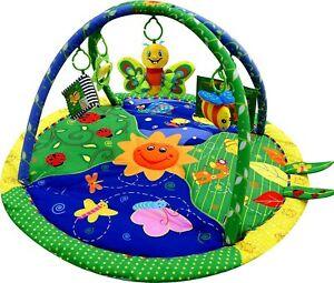 LADIDA Musical Baby Bug Playmat, Play Gym, Musical Activity Play Mat