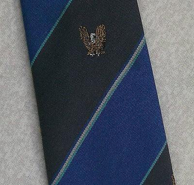Vintage Cravatta Da Uomo Cravatta Crested Club Associazione Società Eagle-mostra Il Titolo Originale Prezzo Di Vendita Diretto In Fabbrica