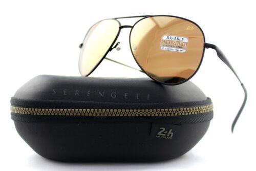 POLARIZED New SERENGETI PANAREA Drivers Gold Mirror Le Man Pilot Sunglasses 8487